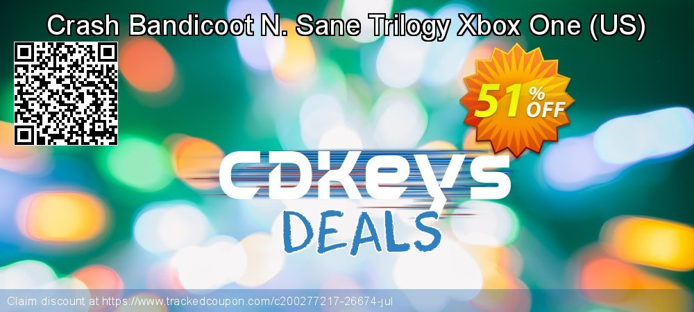 Crash Bandicoot N. Sane Trilogy Xbox One - US  coupon on World Milk Day discount