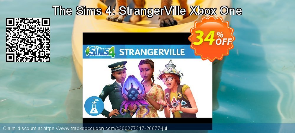 The Sims 4: StrangerVille Xbox One coupon on Social Media Day super sale