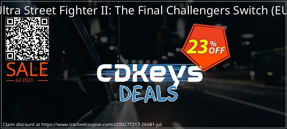 Get 23% OFF Ultra Street Fighter II: The Final Challengers Switch (EU) deals
