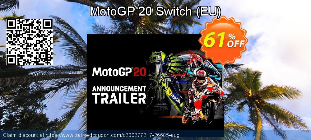 MotoGP 20 Switch - EU  coupon on National Cheese Day offering sales