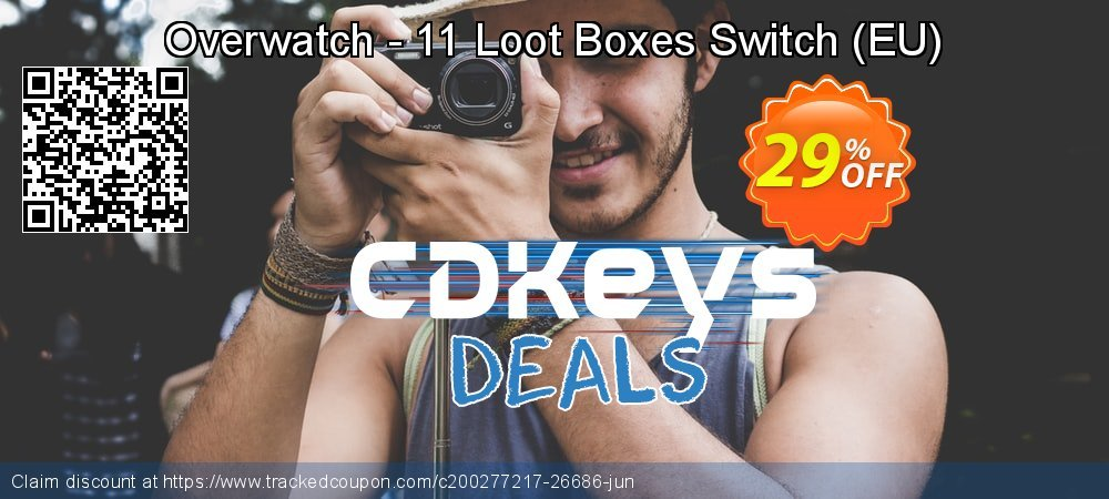 Overwatch - 11 Loot Boxes Switch - EU  coupon on World Bicycle Day super sale