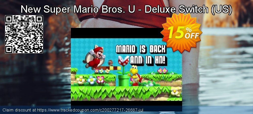 New Super Mario Bros. U - Deluxe Switch - US  coupon on World Milk Day discounts