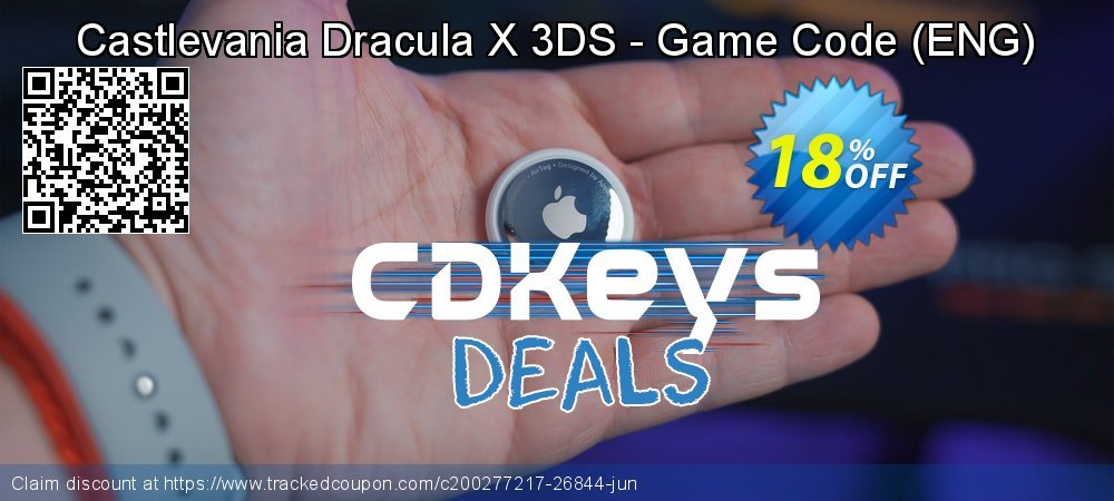 Castlevania Dracula X 3DS - Game Code - ENG  coupon on Egg Day offer