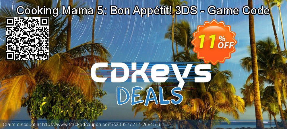 Cooking Mama 5: Bon Appétit! 3DS - Game Code coupon on World Bicycle Day discount