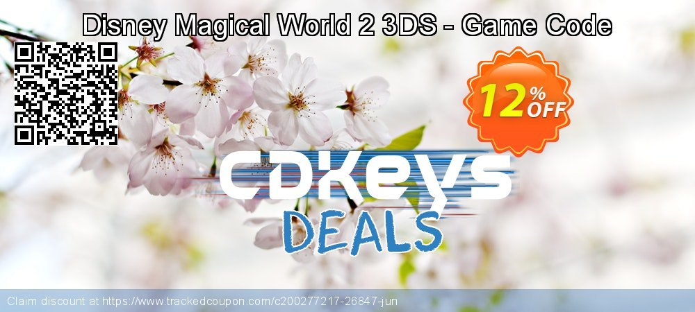 Disney Magical World 2 3DS - Game Code coupon on World Oceans Day offering sales