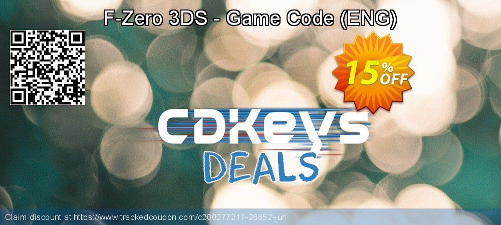 F-Zero 3DS - Game Code - ENG  coupon on Summer deals