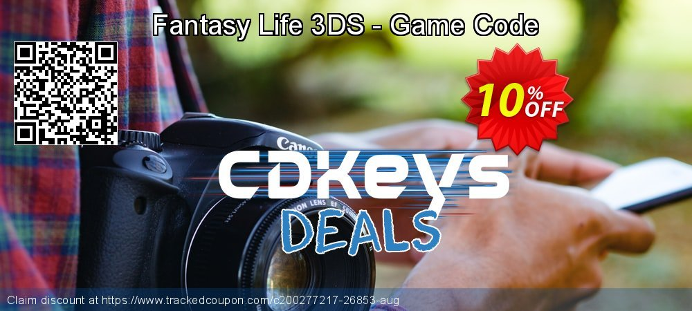 Fantasy Life 3DS - Game Code coupon on Father's Day offer