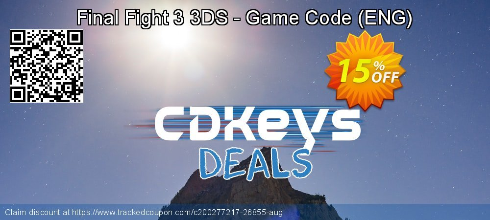 Final Fight 3 3DS - Game Code - ENG  coupon on World Bicycle Day offering discount