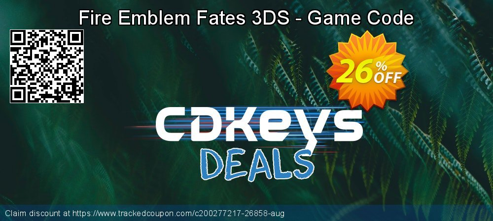 Fire Emblem Fates 3DS - Game Code coupon on World Bicycle Day discounts