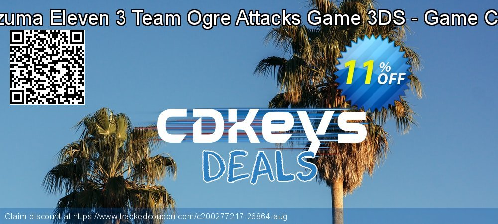 Inazuma Eleven 3 Team Ogre Attacks Game 3DS - Game Code coupon on Camera Day offering discount