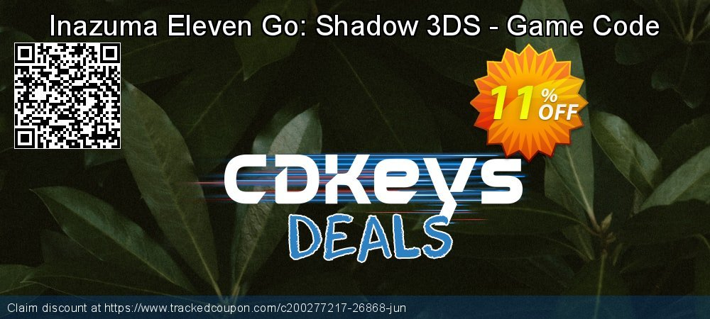 Inazuma Eleven Go: Shadow 3DS - Game Code coupon on World Bicycle Day promotions