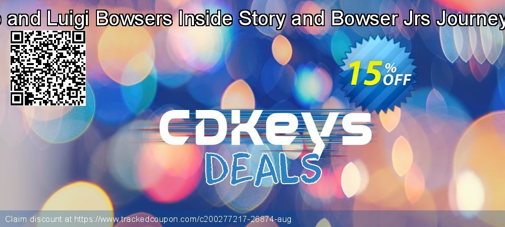 Mario and Luigi Bowsers Inside Story and Bowser Jrs Journey 3DS coupon on National Kissing Day offering sales