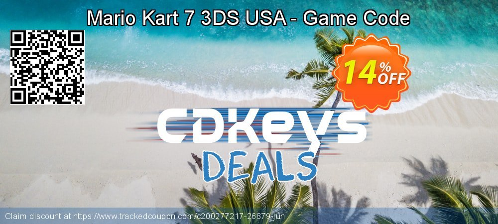 Mario Kart 7 3DS USA - Game Code coupon on Father's Day deals