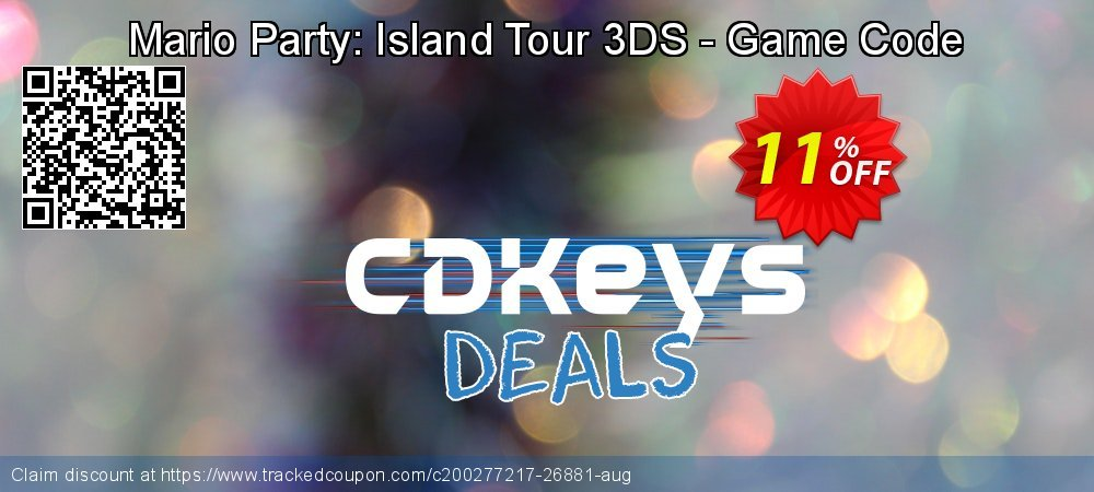 Mario Party: Island Tour 3DS - Game Code coupon on World Bicycle Day discount