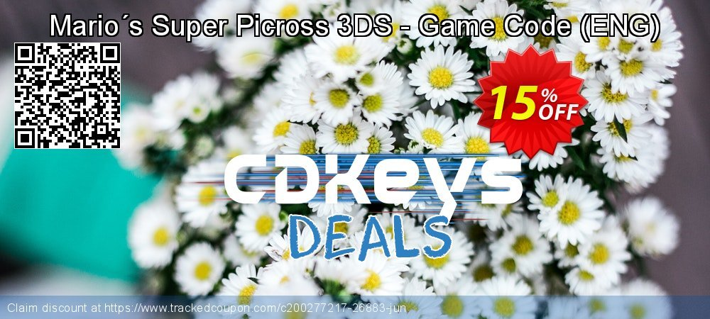 Mario´s Super Picross 3DS - Game Code - ENG  coupon on Egg Day offering sales