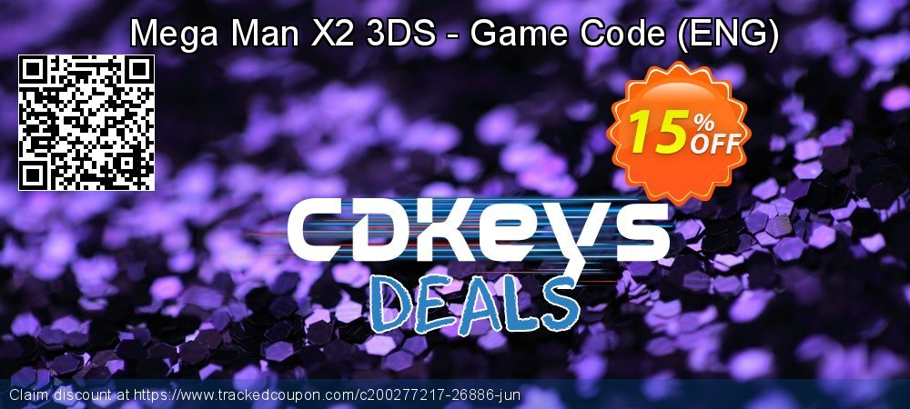 Mega Man X2 3DS - Game Code - ENG  coupon on World Oceans Day promotions