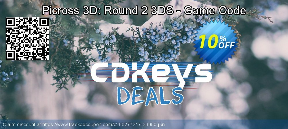 Get 10% OFF Picross 3D: Round 2 3DS - Game Code offering sales