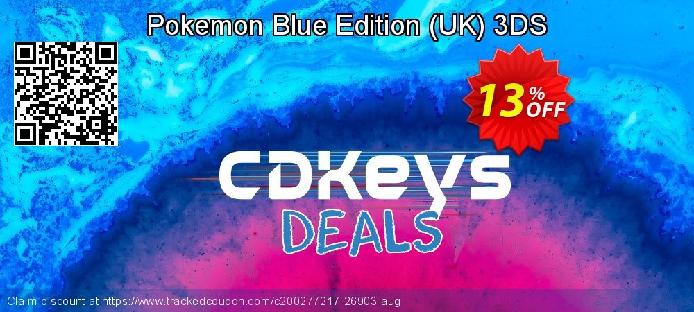 Pokemon Blue Edition - UK 3DS coupon on Camera Day discounts