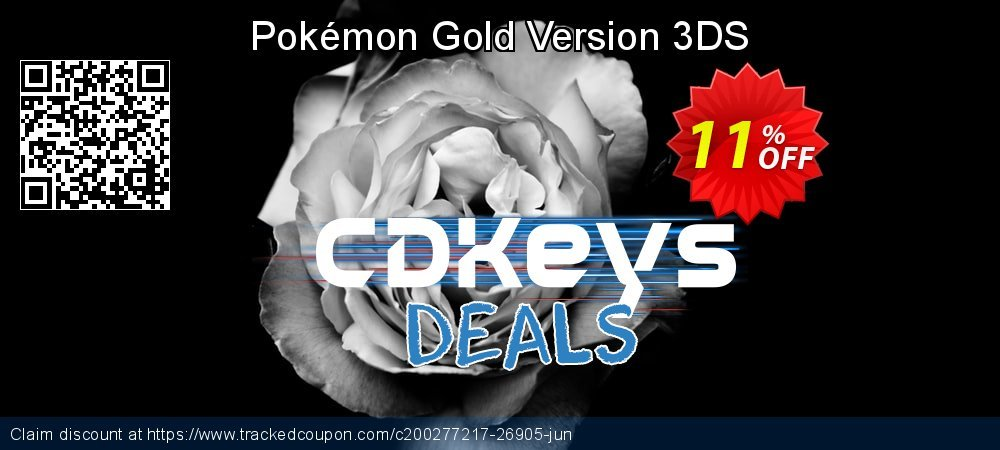 Pokémon Gold Version 3DS coupon on Father's Day sales