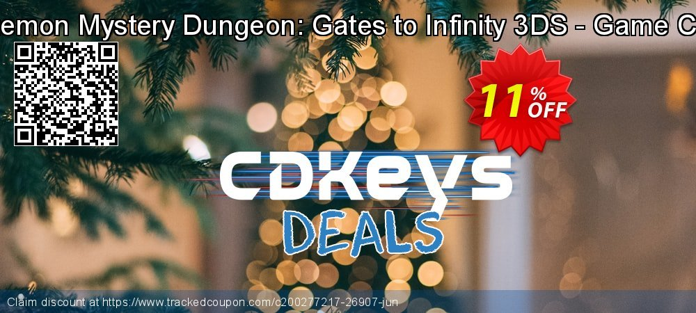 Get 10% OFF Pokemon Mystery Dungeon: Gates to Infinity 3DS - Game Code offering sales