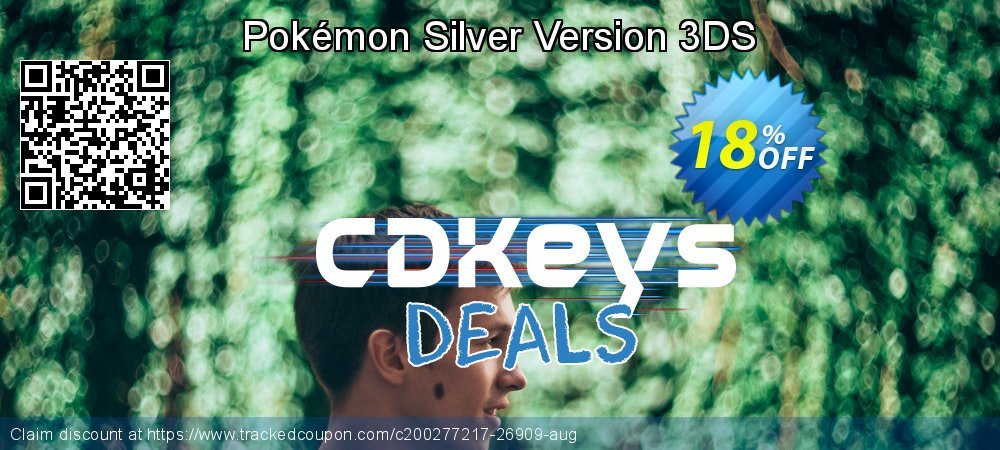 Pokémon Silver Version 3DS coupon on Egg Day offering discount