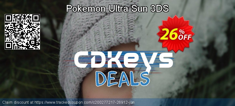 Pokemon Ultra Sun 3DS coupon on World Oceans Day discounts
