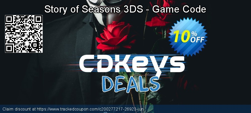 Story of Seasons 3DS - Game Code coupon on World Bicycle Day sales