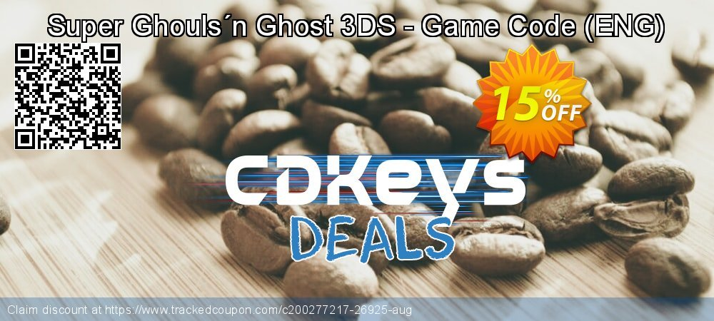 Super Ghouls´n Ghost 3DS - Game Code - ENG  coupon on World Oceans Day offer