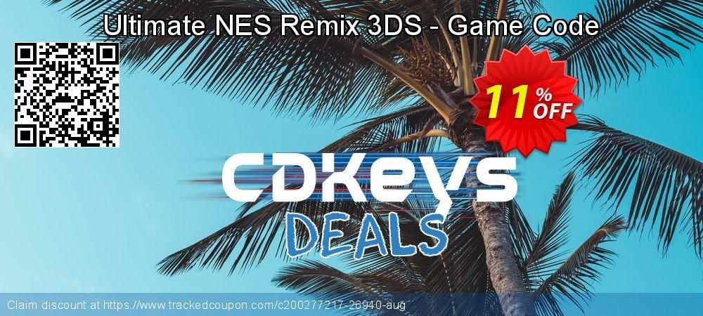 Get 10% OFF Ultimate NES Remix 3DS - Game Code offering sales