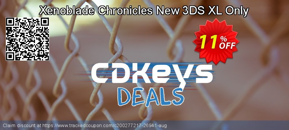 Xenoblade Chronicles New 3DS XL Only coupon on Hug Holiday sales