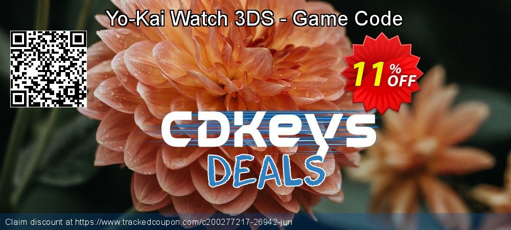 Get 10% OFF Yo-Kai Watch 3DS - Game Code offering sales