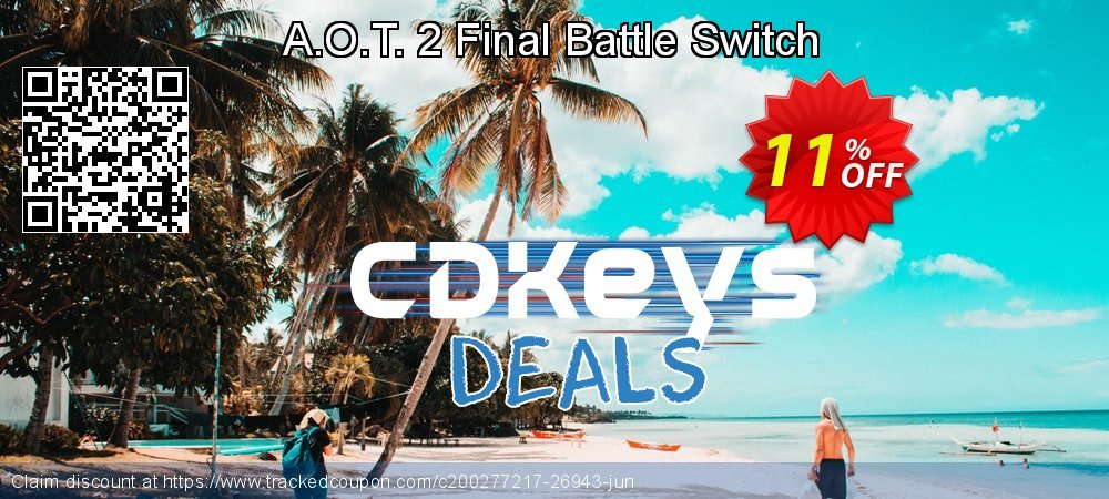 A.O.T. 2 Final Battle Switch coupon on Summer offer