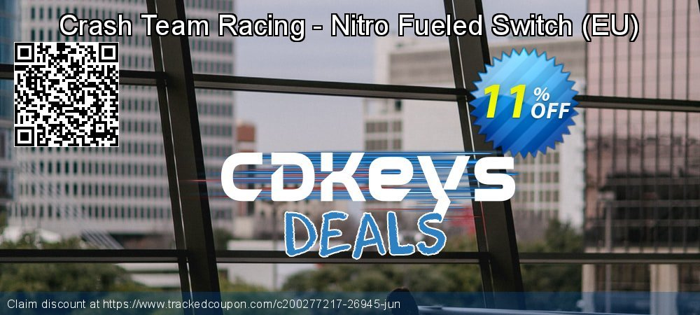 Crash Team Racing - Nitro Fueled Switch - EU  coupon on National Cheese Day offering discount