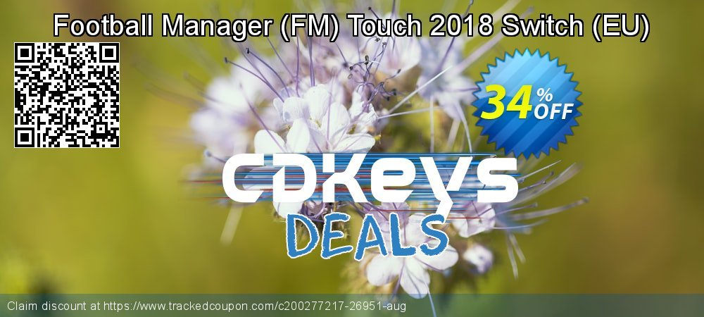 Football Manager - FM Touch 2018 Switch - EU  coupon on World Oceans Day deals