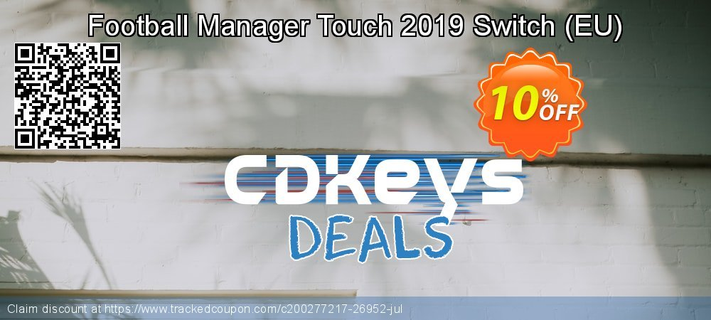Football Manager Touch 2019 Switch - EU  coupon on Read Across America Day promotions