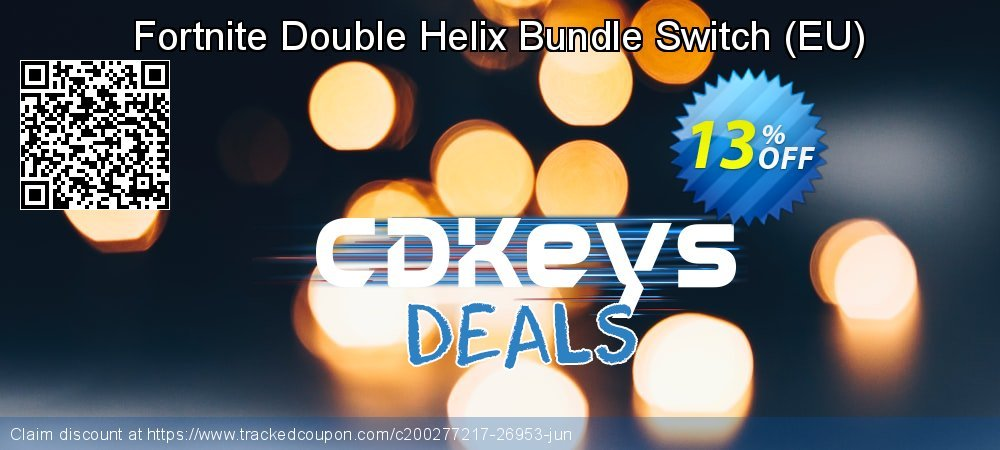 Fortnite Double Helix Bundle Switch - EU  coupon on World Day of Music discount