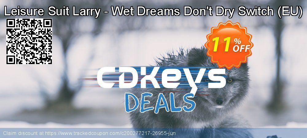 Leisure Suit Larry - Wet Dreams Don't Dry Switch - EU  coupon on Camera Day offering sales