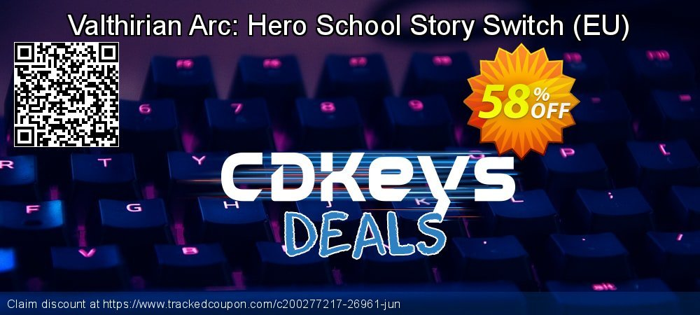 Valthirian Arc: Hero School Story Switch - EU  coupon on Egg Day offer