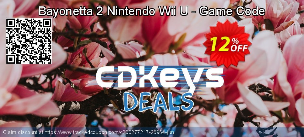 Bayonetta 2 Nintendo Wii U - Game Code coupon on World Oceans Day offering sales