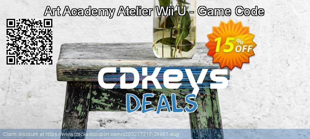 Art Academy Atelier Wii U - Game Code coupon on Camera Day offering discount