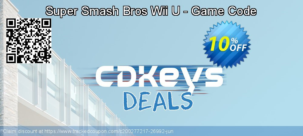Get 10% OFF Super Smash Bros Wii U - Game Code offering deals