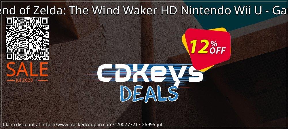 Get 10% OFF The Legend of Zelda: The Wind Waker HD Nintendo Wii U - Game Code offering sales