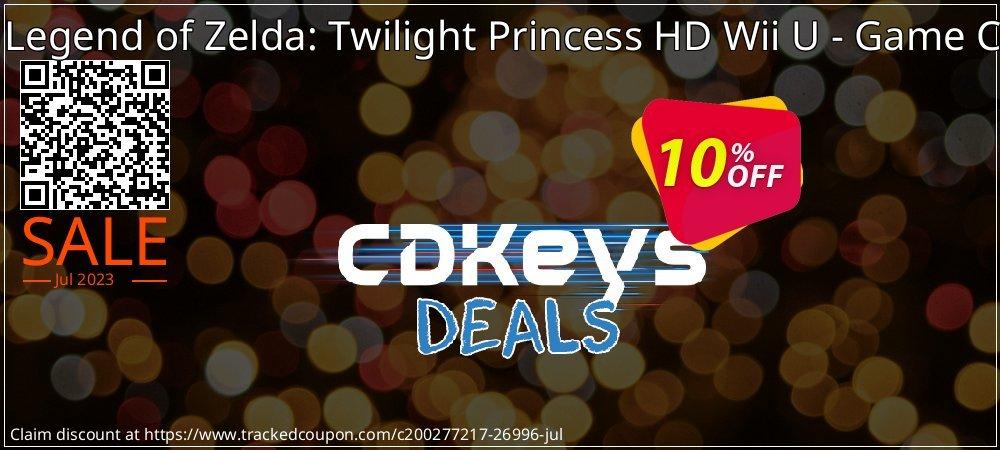Get 10% OFF The Legend of Zelda: Twilight Princess HD Wii U - Game Code offering sales