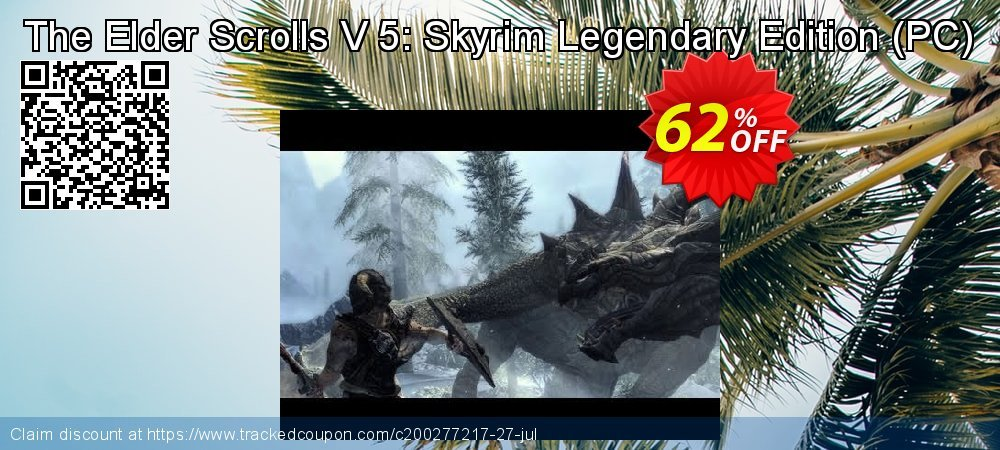 The Elder Scrolls V 5: Skyrim Legendary Edition - PC  coupon on Mothers Day offering discount
