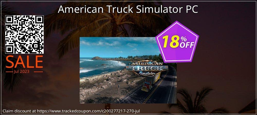 American Truck Simulator PC coupon on Eid al-Adha super sale