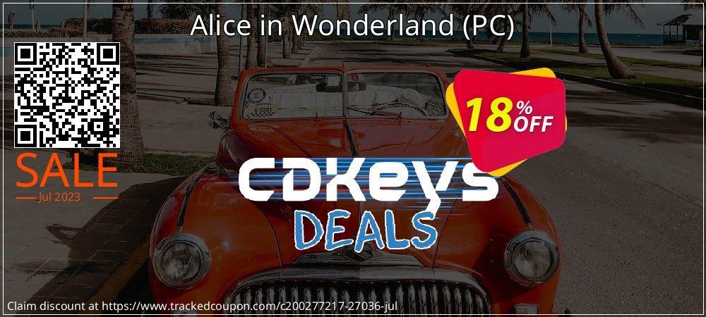 Get 10% OFF Alice in Wonderland (PC) offering sales