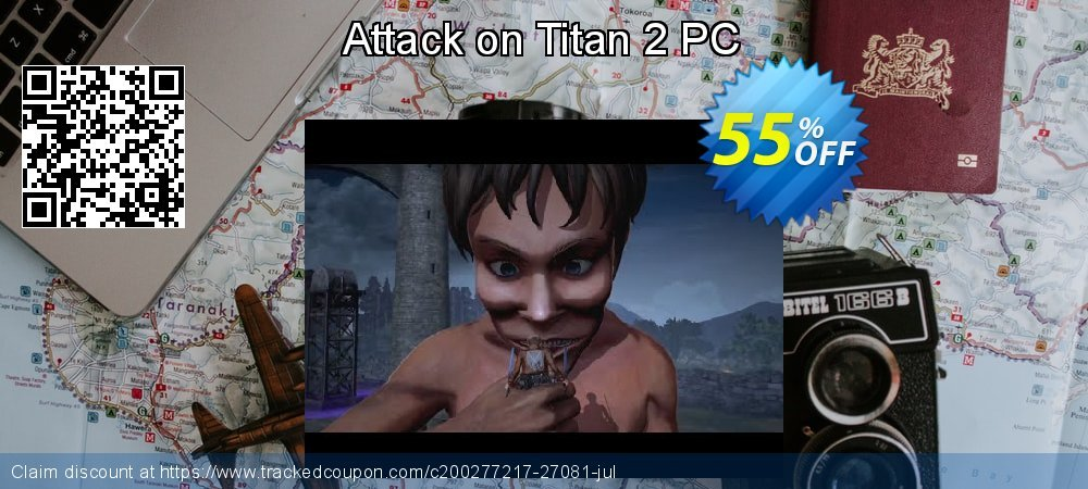 Get 15% OFF Attack on Titan 2 PC offer