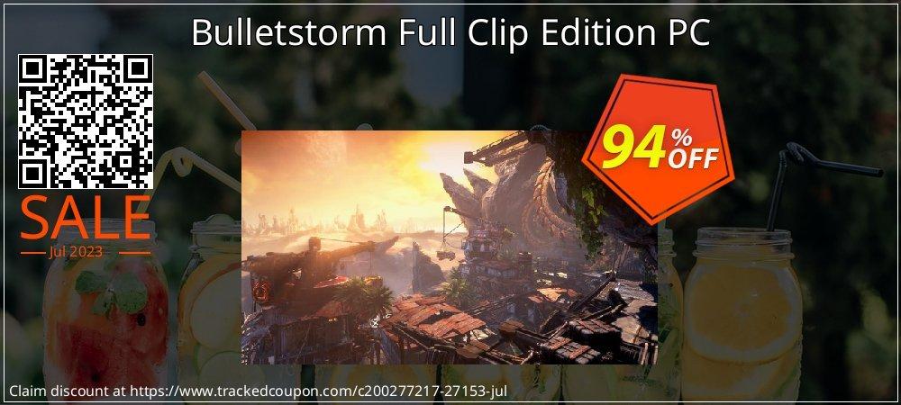 Get 92% OFF Bulletstorm Full Clip Edition PC sales