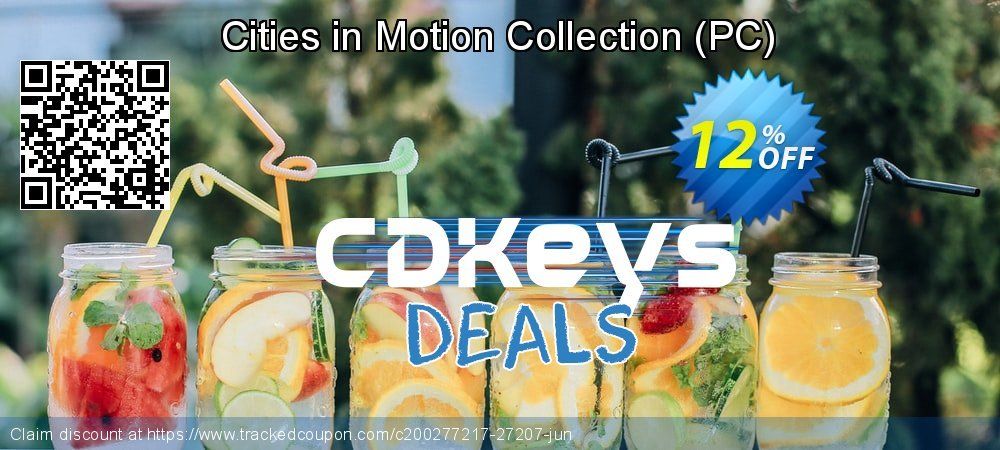Get 10% OFF Cities in Motion Collection (PC) offering sales