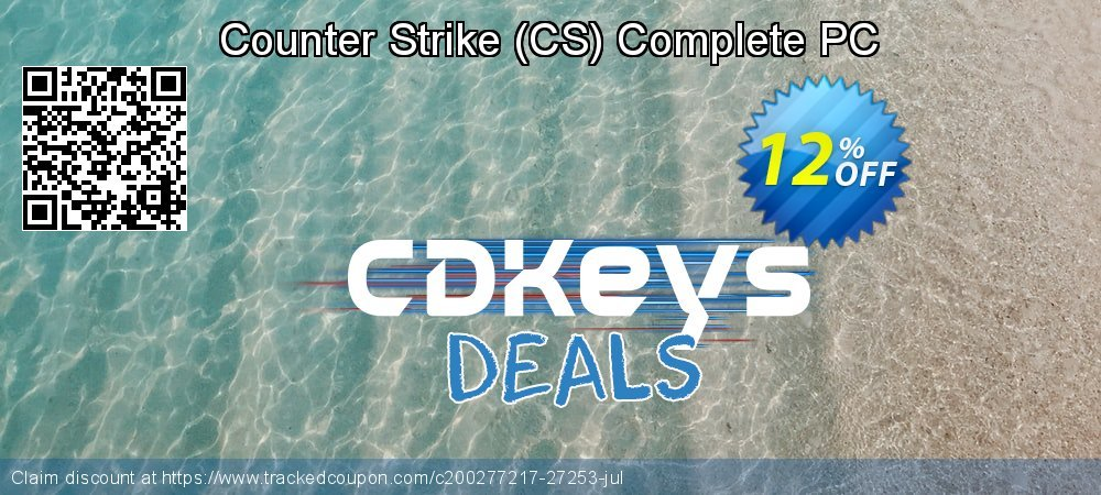 Get 10% OFF Counter Strike (CS) Complete PC discount